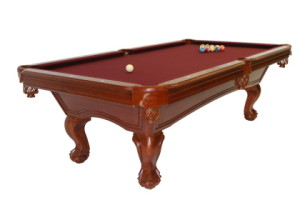 Pool table installation in Nashua New Hampshire